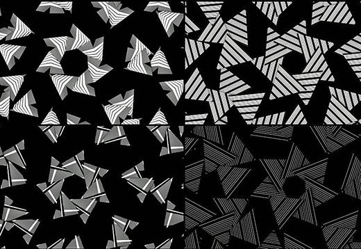 平面设计作品中的节奏如何表现