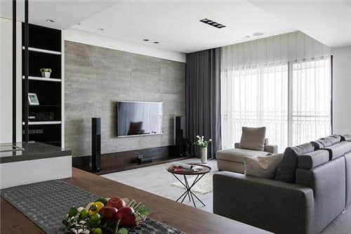 经典黑白灰现代风格室内设计更有品味